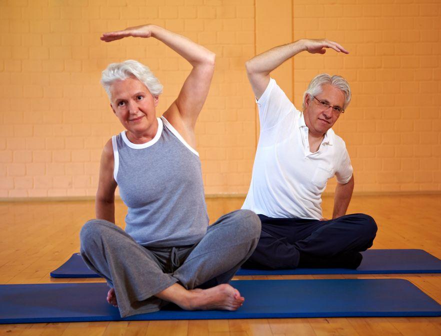 Упражнения для ног в домашних условиях для пожилых