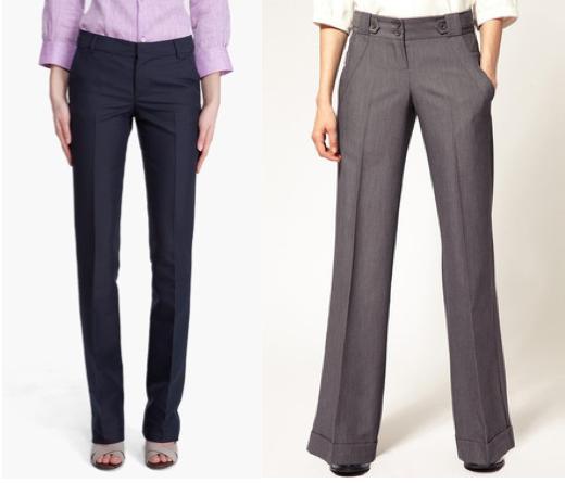 Темно-синие женские медицинские брюки от интернет магазина Саталь выполнены в зауженном крое