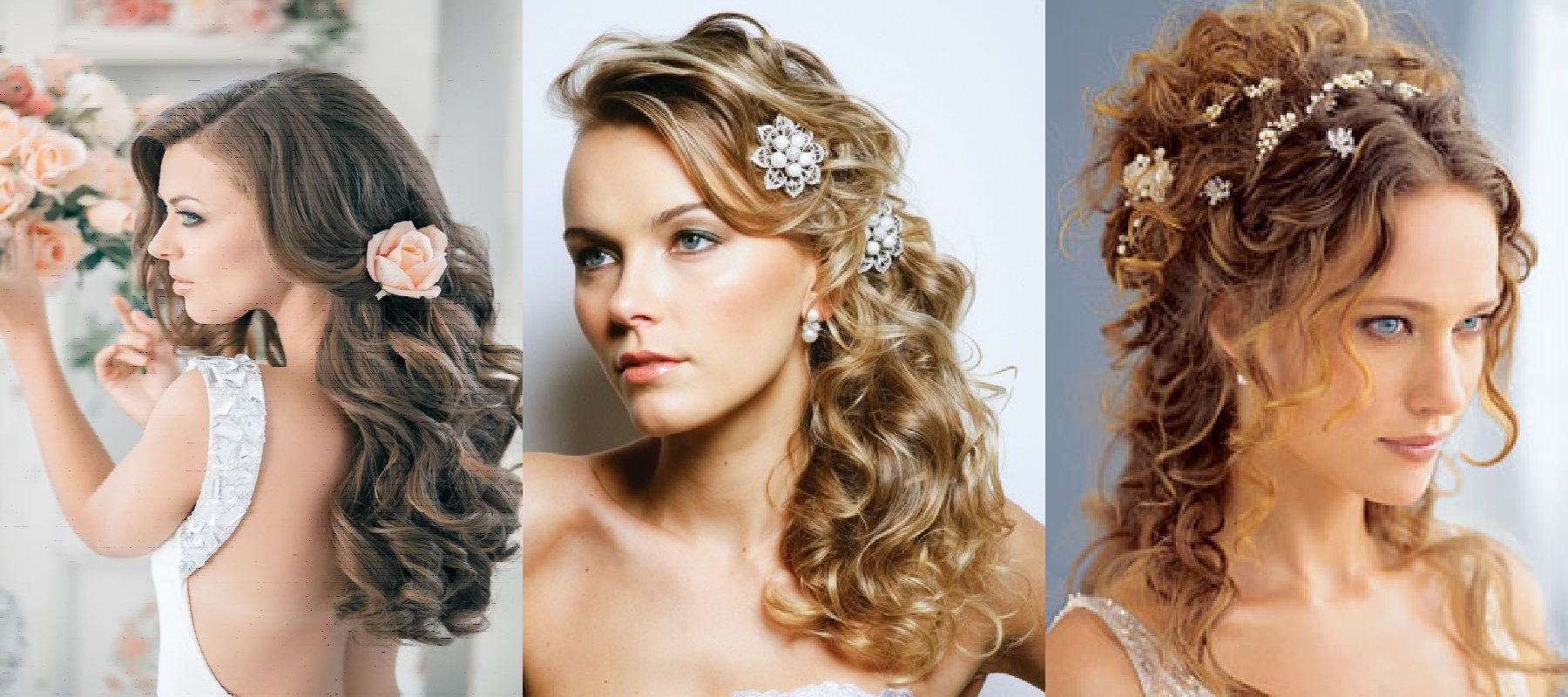 Женские прически на средние волосы на выпускной
