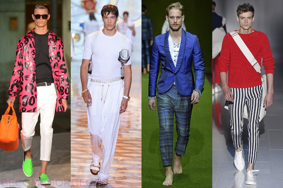 Модные тенденции весна лето 2016 для мужчин