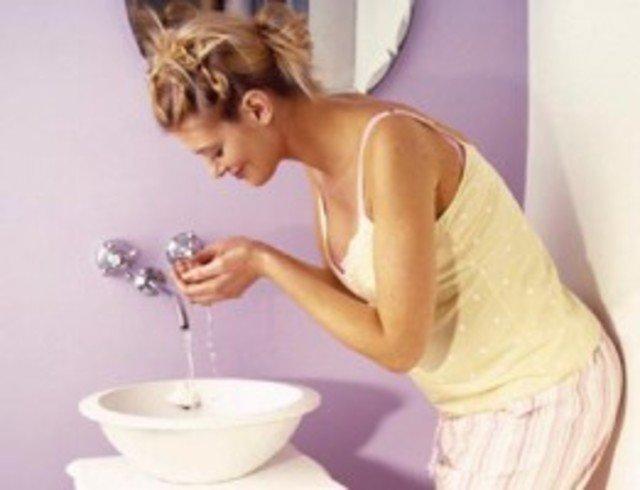 белье можно я беремена моюсь водой с железом для